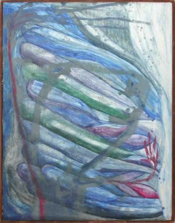 kung-fu-master-óleo-sobre-madeira-64-x-50-cm