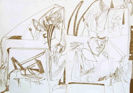 akhenaton-e-nefertiti-2005-caneta-de-feltro-sobre-papel-30-x-42-cm-a