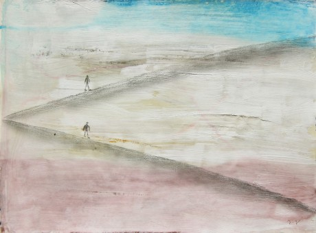 as-duas-terras-2014-acrilico-e-grafite-sobre-papel-21-x-28-cm