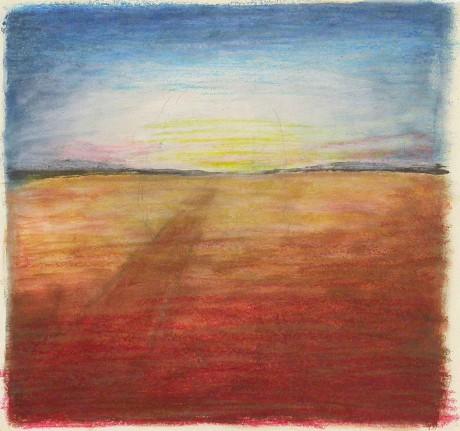 dentro-o-deserto-2001-aguarela-e-lápis-de-cera-30-x-28,5-cm