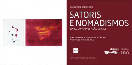 expo satoris nomadismos flyer