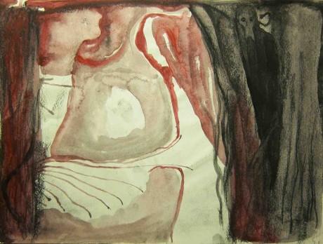 o-inferno-de-dante-2001-carvao-e-guache-sobre-papel-21-x-28-cm