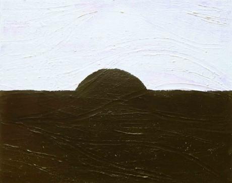 o-sol-negro-2014-acrilico-sobre-tela-40-x-50-cm