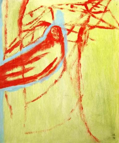 o-velho-poeta-e-a-morte-2004-acrilico-sobre-cartolina-27-x-22-cm