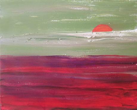 paterson-ao-por-do-sol-2012-acrilico-e-pastel-de-oleo-sobre-tela-30-x-40-cm