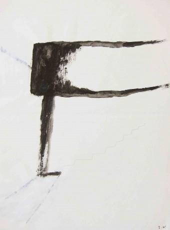 a-stairway-2002-grafite-e-acrilico-sobre-papel-27,5-x-21-cm