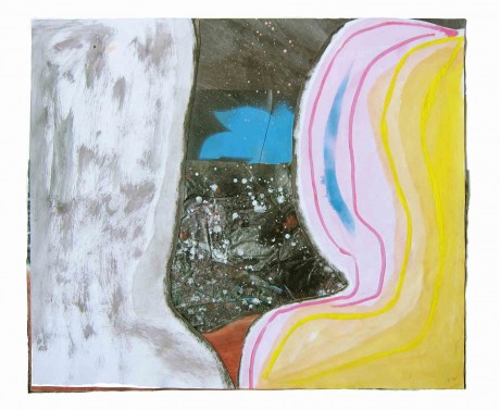 sem-titulo-2004-acrilico-glitter-spray-e-colagem-sobre-papel-42,5-x-50,5-cm
